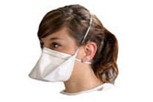 masque anti pollution tete de mort